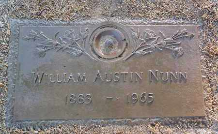 NUNN, WILLIAM AUSTIN - Yavapai County, Arizona | WILLIAM AUSTIN NUNN - Arizona Gravestone Photos