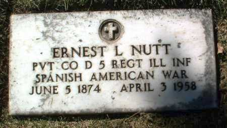 NUTT, ERNEST LAFAYETTE - Yavapai County, Arizona | ERNEST LAFAYETTE NUTT - Arizona Gravestone Photos