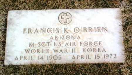 O'BRIEN, FRANCIS K. - Yavapai County, Arizona   FRANCIS K. O'BRIEN - Arizona Gravestone Photos