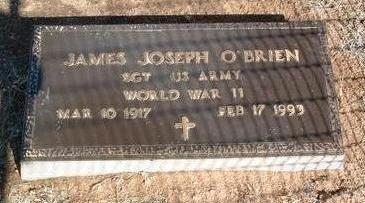 O'BRIEN, JAMES JOSEPH - Yavapai County, Arizona | JAMES JOSEPH O'BRIEN - Arizona Gravestone Photos