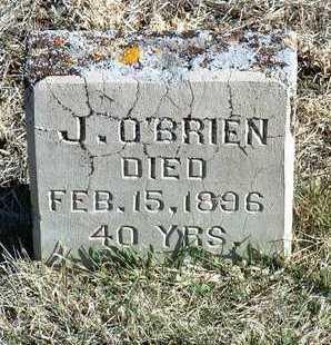 O'BRIEN, J. - Yavapai County, Arizona | J. O'BRIEN - Arizona Gravestone Photos