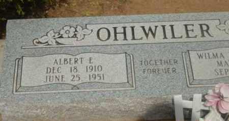 OHLWILER, ALBERT EARL - Yavapai County, Arizona | ALBERT EARL OHLWILER - Arizona Gravestone Photos