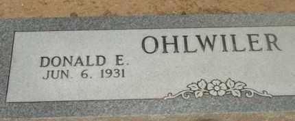 OHLWILER, DONALD EDWIN - Yavapai County, Arizona | DONALD EDWIN OHLWILER - Arizona Gravestone Photos