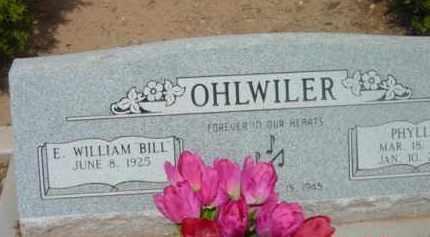 OHLWILER, ELMER WILLIAM - Yavapai County, Arizona | ELMER WILLIAM OHLWILER - Arizona Gravestone Photos