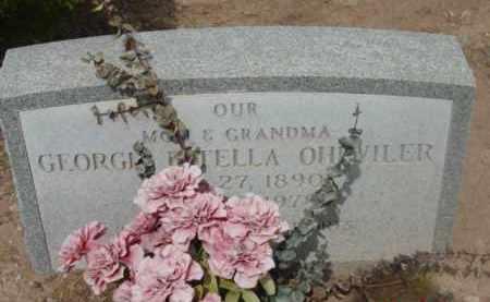 OHLWILER, GEORGIA ESTELLA - Yavapai County, Arizona   GEORGIA ESTELLA OHLWILER - Arizona Gravestone Photos
