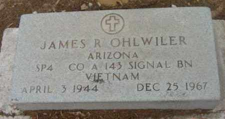 OHLWILER, JAMES R. - Yavapai County, Arizona | JAMES R. OHLWILER - Arizona Gravestone Photos