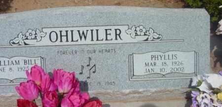 PACKER OHLWILER, PHYLLIS - Yavapai County, Arizona | PHYLLIS PACKER OHLWILER - Arizona Gravestone Photos