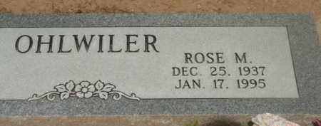 OHLWILER, ROSE MARIE - Yavapai County, Arizona | ROSE MARIE OHLWILER - Arizona Gravestone Photos