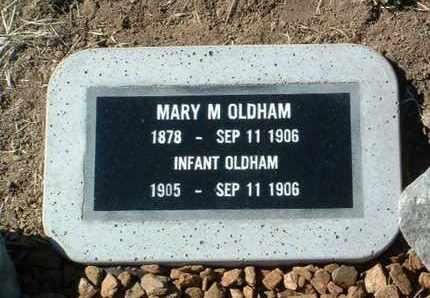 OLDHAM, INFANT - Yavapai County, Arizona   INFANT OLDHAM - Arizona Gravestone Photos