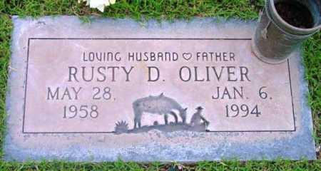 OLIVER, RUSTY D. - Yavapai County, Arizona   RUSTY D. OLIVER - Arizona Gravestone Photos