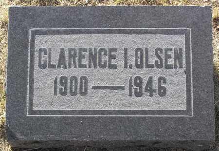 OLSEN, CLARENCE IRVING - Yavapai County, Arizona | CLARENCE IRVING OLSEN - Arizona Gravestone Photos