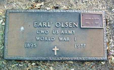OLSEN, EARL - Yavapai County, Arizona | EARL OLSEN - Arizona Gravestone Photos