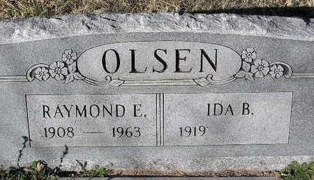 OLSEN, IDA B. - Yavapai County, Arizona | IDA B. OLSEN - Arizona Gravestone Photos