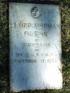 OLSON, ELMER NORMAN - Yavapai County, Arizona | ELMER NORMAN OLSON - Arizona Gravestone Photos