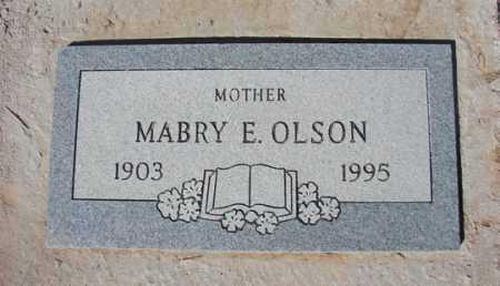 VANDRAISS OLSON, MABRY E. - Yavapai County, Arizona | MABRY E. VANDRAISS OLSON - Arizona Gravestone Photos
