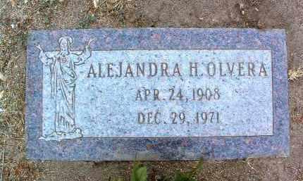 OLVERA, ALEJANDRA H. - Yavapai County, Arizona   ALEJANDRA H. OLVERA - Arizona Gravestone Photos