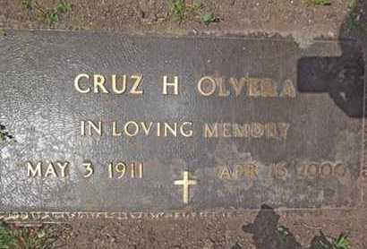 OLVERA, CRUZ H. - Yavapai County, Arizona | CRUZ H. OLVERA - Arizona Gravestone Photos