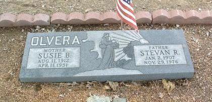OLVERA, SUSIE B. - Yavapai County, Arizona   SUSIE B. OLVERA - Arizona Gravestone Photos