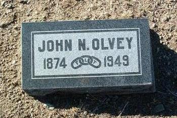 OLVEY, JOHN N. - Yavapai County, Arizona | JOHN N. OLVEY - Arizona Gravestone Photos