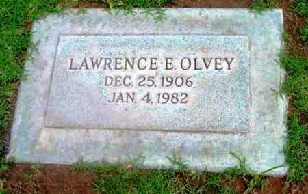 OLVEY, LAWRENCE E. - Yavapai County, Arizona | LAWRENCE E. OLVEY - Arizona Gravestone Photos