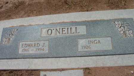O'NEILL, EDWARD J. - Yavapai County, Arizona | EDWARD J. O'NEILL - Arizona Gravestone Photos
