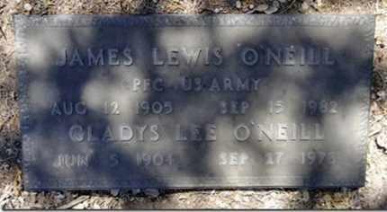 O'NEILL, JAMES LEWIS - Yavapai County, Arizona   JAMES LEWIS O'NEILL - Arizona Gravestone Photos