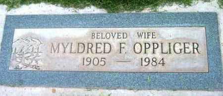STOVER OPPLIGER, MYLDRED - Yavapai County, Arizona | MYLDRED STOVER OPPLIGER - Arizona Gravestone Photos