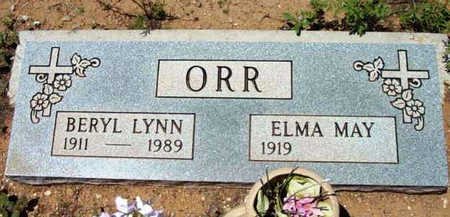 ORR, BERYL LYNN - Yavapai County, Arizona | BERYL LYNN ORR - Arizona Gravestone Photos