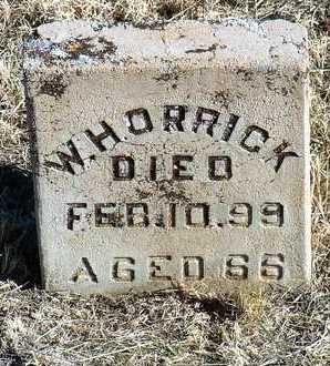 ORRICK, WILLIAM H. - Yavapai County, Arizona   WILLIAM H. ORRICK - Arizona Gravestone Photos