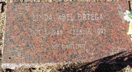 ORTEGA, LINDA ABEL - Yavapai County, Arizona | LINDA ABEL ORTEGA - Arizona Gravestone Photos