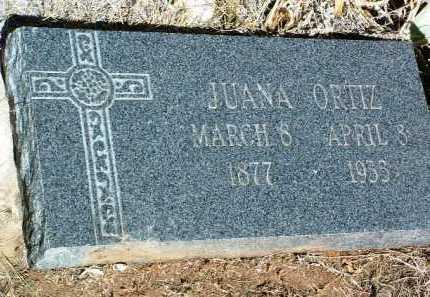 ORTIZ, JUANA - Yavapai County, Arizona | JUANA ORTIZ - Arizona Gravestone Photos