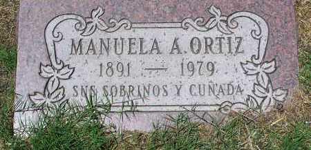 ORTIZ, MANUELA A. - Yavapai County, Arizona   MANUELA A. ORTIZ - Arizona Gravestone Photos