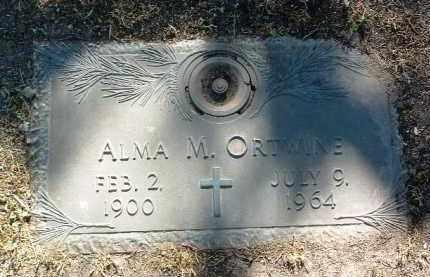 ORTWINE, ALMA MAE - Yavapai County, Arizona | ALMA MAE ORTWINE - Arizona Gravestone Photos