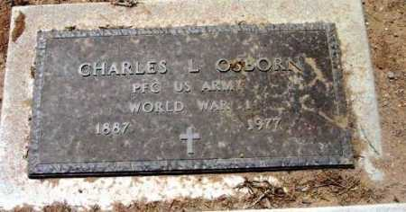 OSBORN, CHARLES L. - Yavapai County, Arizona | CHARLES L. OSBORN - Arizona Gravestone Photos