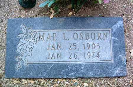OSBORN, MAE L. - Yavapai County, Arizona | MAE L. OSBORN - Arizona Gravestone Photos