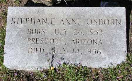 OSBORN, STEPHANIE ANNE - Yavapai County, Arizona | STEPHANIE ANNE OSBORN - Arizona Gravestone Photos
