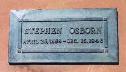 OSBORN, STEPHEN - Yavapai County, Arizona   STEPHEN OSBORN - Arizona Gravestone Photos