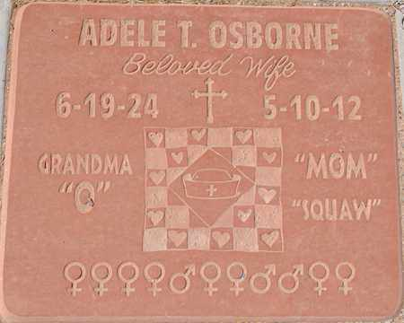 OSBORNE, ADELE THERESA - Yavapai County, Arizona | ADELE THERESA OSBORNE - Arizona Gravestone Photos