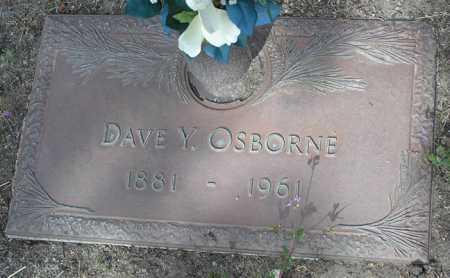 OSBORNE, DAVE Y. - Yavapai County, Arizona | DAVE Y. OSBORNE - Arizona Gravestone Photos