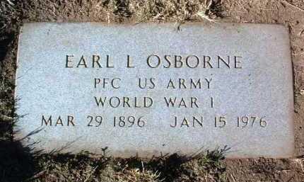 OSBORNE, EARL L. - Yavapai County, Arizona | EARL L. OSBORNE - Arizona Gravestone Photos