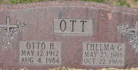 BIRT OTT, THELMA GWENDOLYN - Yavapai County, Arizona | THELMA GWENDOLYN BIRT OTT - Arizona Gravestone Photos