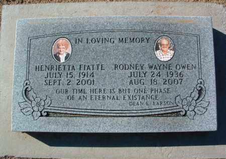 OWEN, RODNEY WAYNE - Yavapai County, Arizona | RODNEY WAYNE OWEN - Arizona Gravestone Photos