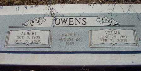 OWENS, VELMA OCTAVINE - Yavapai County, Arizona | VELMA OCTAVINE OWENS - Arizona Gravestone Photos