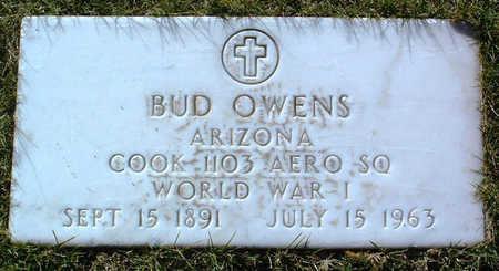OWENS, BUD - Yavapai County, Arizona   BUD OWENS - Arizona Gravestone Photos