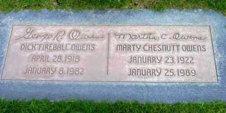 OWENS, MARTHA CHESNUTT - Yavapai County, Arizona | MARTHA CHESNUTT OWENS - Arizona Gravestone Photos