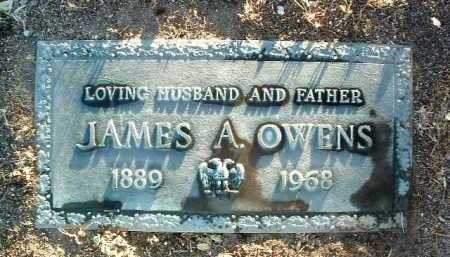 OWENS, JAMES ALFRED - Yavapai County, Arizona | JAMES ALFRED OWENS - Arizona Gravestone Photos