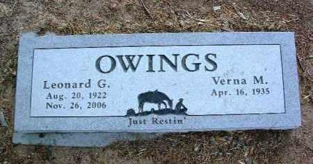 OWINGS, VERNA MAE - Yavapai County, Arizona | VERNA MAE OWINGS - Arizona Gravestone Photos
