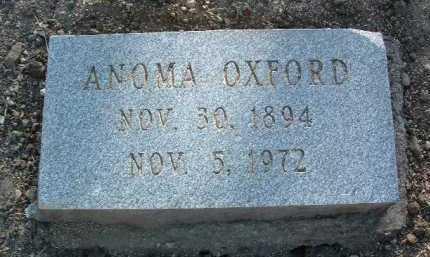 OXFORD, ANOMA - Yavapai County, Arizona | ANOMA OXFORD - Arizona Gravestone Photos