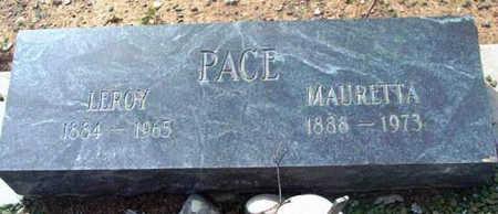 PACE, LEROY - Yavapai County, Arizona | LEROY PACE - Arizona Gravestone Photos
