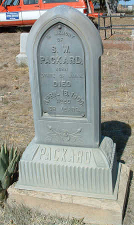 PACKARD, STEPHEN WALLACE - Yavapai County, Arizona | STEPHEN WALLACE PACKARD - Arizona Gravestone Photos